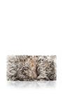 Arc Large Lambskin Fur Clutch by Nina Ricci Now Available on Moda Operandi