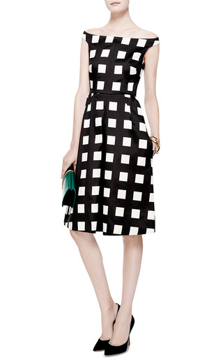 Printed Wool And Silk Blend Dress by ROCHAS Now Available on Moda Operandi