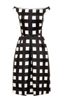 Printed Wool and Silk-Blend Dress by Rochas Now Available on Moda Operandi