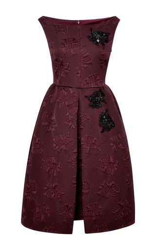 Embellished Jacquard Dress by Rochas Now Available on Moda Operandi
