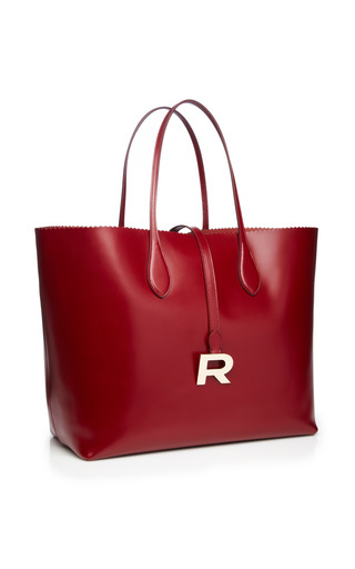 Phoebe Leather Tote by Rochas for Preorder on Moda Operandi