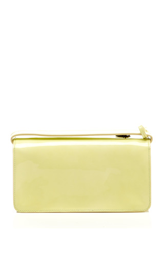 Rochas - Olivia Embellished Patent Leather Clutch