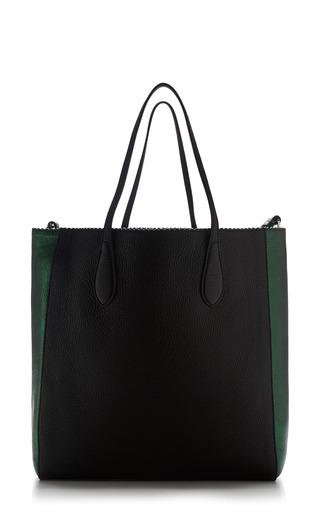 Two-Tone Borsa Leather Tote by Rochas Now Available on Moda Operandi