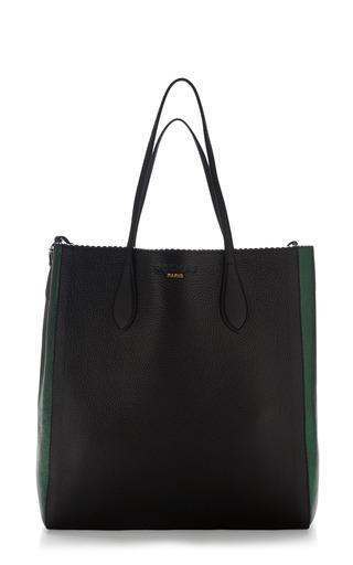 Two Tone Borsa Leather Tote by ROCHAS Now Available on Moda Operandi