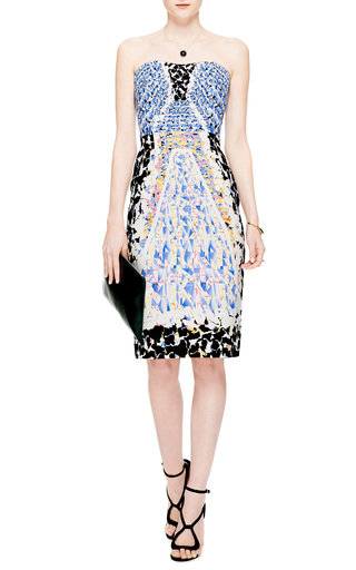 KS Printed Crepe-Jersey Dress by Peter Pilotto for Preorder on Moda Operandi