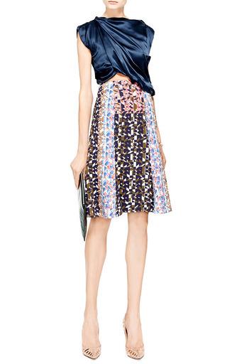 Peter Pilotto - Olivia Printed Crepe-Jersey Skirt