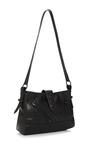 Zipper-Detail Leather Shoulder Bag by Kenzo Now Available on Moda Operandi