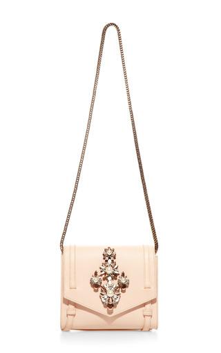 Daktari Crystal Embellished Shoulder Bag by SHOUROUK Now Available on Moda Operandi