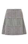 Kenzo - Printed Silk and Jacquard Mini Skirt