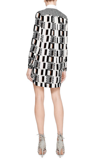 Printed Silk-Twill Shirtdress by Kenzo Now Available on Moda Operandi