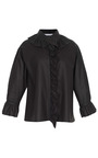 Ruffled Paper Leather Top by J.W. Anderson for Preorder on Moda Operandi