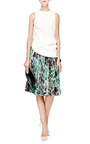 Pleated Jacquard-Twill Skirt by J.W. Anderson Now Available on Moda Operandi