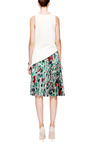 J.W. Anderson - Pleated Jacquard-Twill Skirt