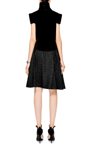 Flecked Wool A-Line Skirt by J.W. Anderson for Preorder on Moda Operandi