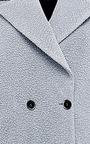 MSGM - Textured Wool-Blend Coat