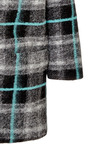 Felted-Wool Plaid Coat by MSGM Now Available on Moda Operandi