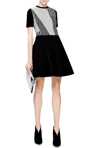 Pleated Flared Skirt by MSGM for Preorder on Moda Operandi