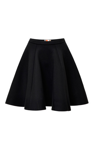 Pleated Flared Skirt by MSGM Now Available on Moda Operandi