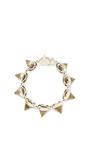 Gemstone Cone Bracelet by Eddie Borgo for Preorder on Moda Operandi