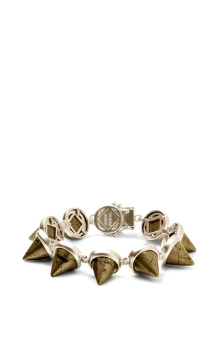 Gemstone Cone Bracelet by Eddie Borgo Now Available on Moda Operandi