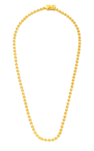 Eddie Borgo - Brushed Gold-Plated Mini Cone Necklace