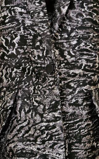 Antonio Berardi - Metallic-Effect Brocade Blazer