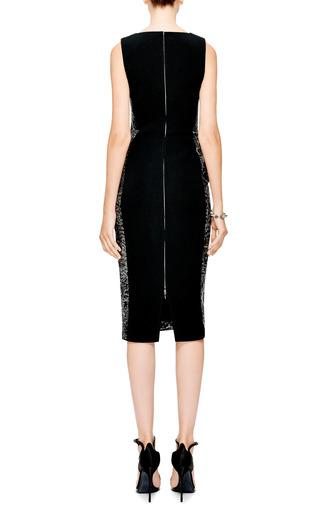 Zipper-Detail Jacquard Dress by Antonio Berardi Now Available on Moda Operandi