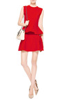 Knit Wool-Blend Peplum Top by Antonio Berardi Now Available on Moda Operandi