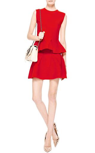 Knit Wool-Blend Flared Mini Skirt by Antonio Berardi Now Available on Moda Operandi