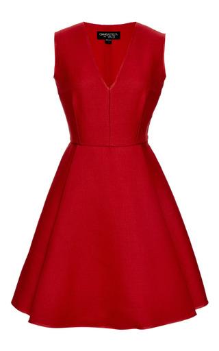 Wool and Silk-Blend A-Line Dress by Giambattista Valli Now Available on Moda Operandi