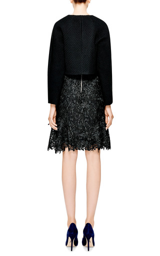Giambattista Valli - Woven Cropped Jacket