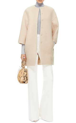 Felted Cocoon Coat by Giambattista Valli Now Available on Moda Operandi