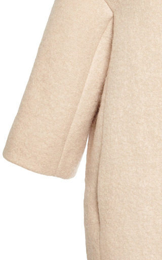 Felted Cocoon Coat by GIAMBATTISTA VALLI Now Available on Moda Operandi