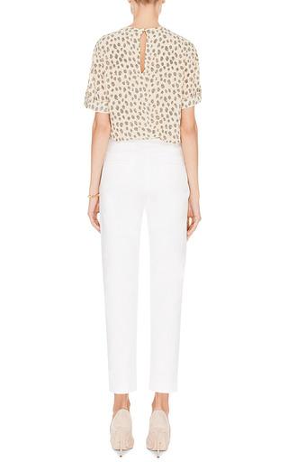 Stretch Cotton Pants by HARVEY FAIRCLOTH Now Available on Moda Operandi