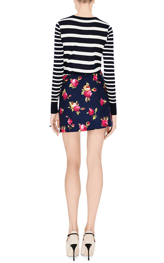 Harvey Faircloth - M'O Exclusive: Floral-Print Brushed-Cotton Skirt