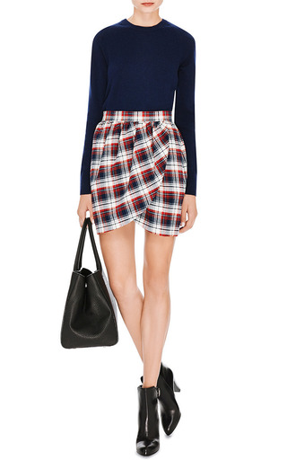 M'O Exclusive: Brushed-Cotton Tulip Skirt by Harvey Faircloth Now Available on Moda Operandi