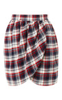 Harvey Faircloth - M'O Exclusive: Brushed-Cotton Tulip Skirt