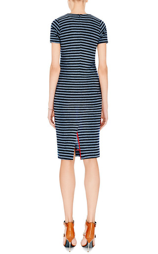 Striped Cotton-Jersey Dress by Harvey Faircloth Now Available on Moda Operandi