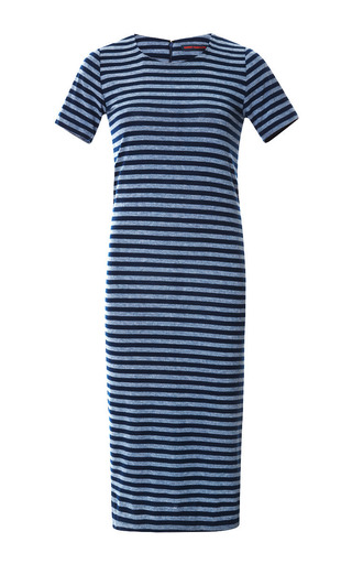 Striped Cotton Jersey Dress by HARVEY FAIRCLOTH Now Available on Moda Operandi