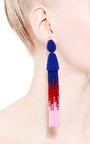 Oscar de la Renta - Ombre Tassel Earring