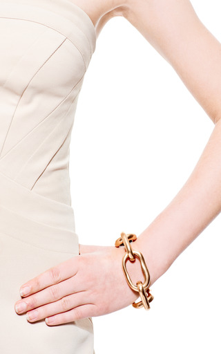 Oscar de la Renta - Russian Link Gold Bracelet