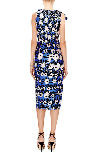 Floral-Print Silk-Twill Dress by Marni Now Available on Moda Operandi