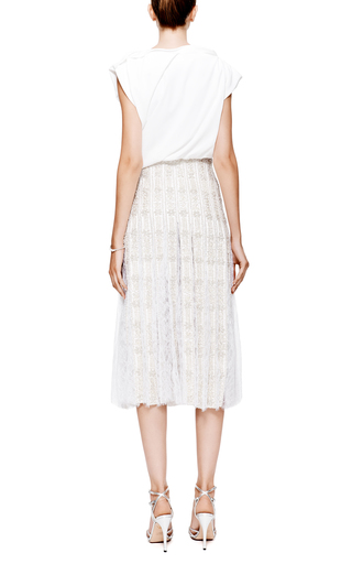 Ellery - Buttercup Draped Crepe Top