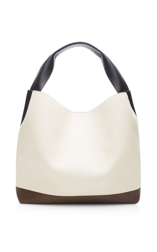 Marni - Tri-Tone Oversized Leather Tote