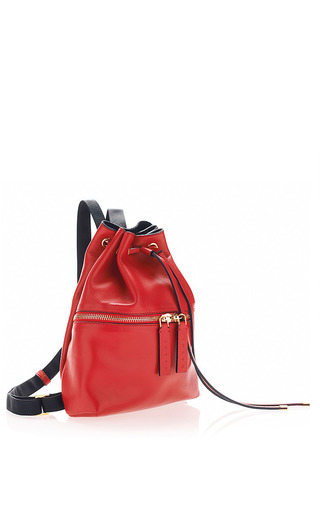 Mini Leather Backpack by Marni Now Available on Moda Operandi