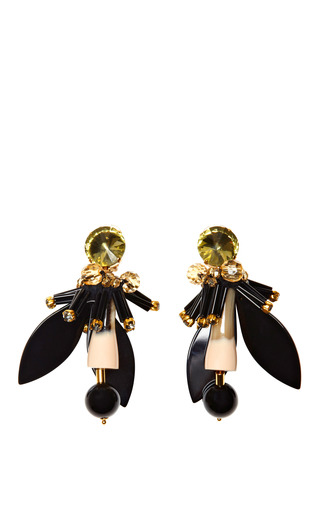Marni - Resin and Crystal Earrings