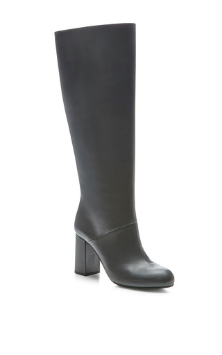 Knee-High Leather Boots by Marni Now Available on Moda Operandi