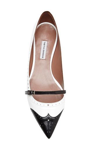 Tabitha Simmons - Belfy Leather Spectator Flats