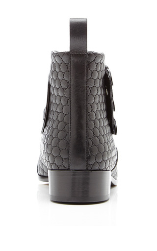 Tabitha Simmons - Early Quilted Leather Ankle Boots