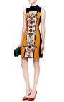 Gattaca Printed Sateen Dress by Mary Katrantzou for Preorder on Moda Operandi